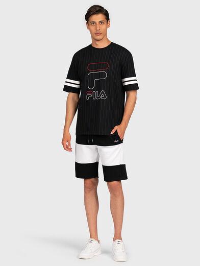 JAMIRO T-shirt with logo print - 4