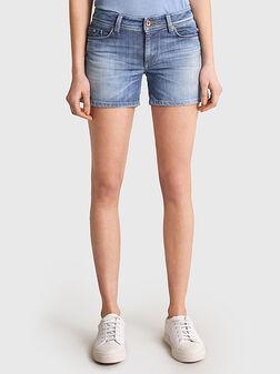 Denim shorts - 1