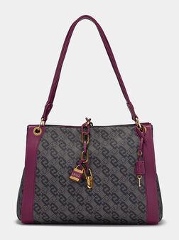 Чанта с монограмен лого принт - 1