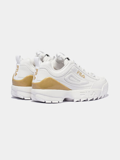 DISRUPTOR Leather sneakers with contrasting insert - 3