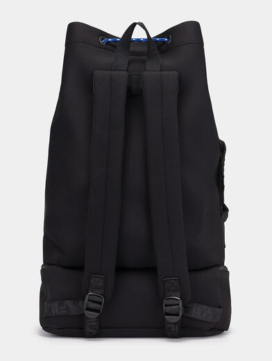 Black backpack with logo - 3