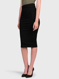 ANITA Skirt with animal print - 1