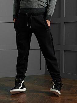 Памучен спортен панталон ORANGE LABEL - 1