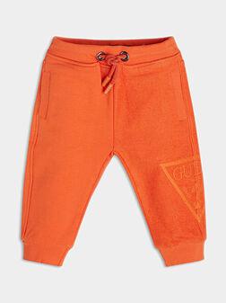 Blue sports pants - 1