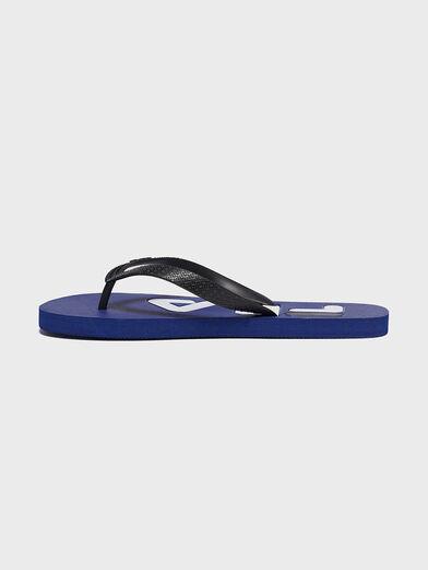 TROY Slipper in blue - 4