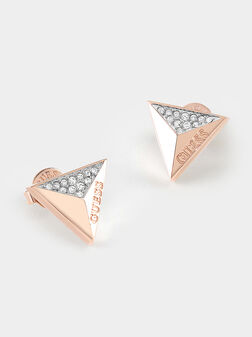 GUESS EXPLOSION earrings in rose gold color - 1