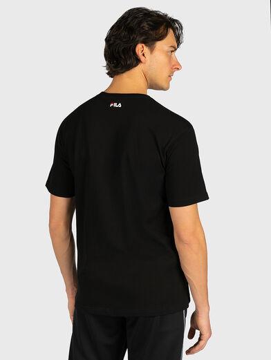 Unisex T-shirt with maxi logo - 3