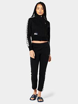 Shortened sweatshirt - 1