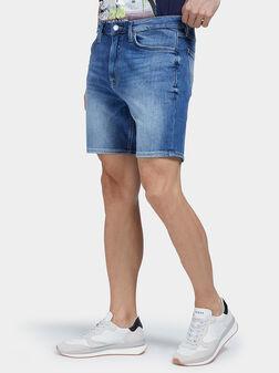 Къси дънкови панталони DRAKE - 1