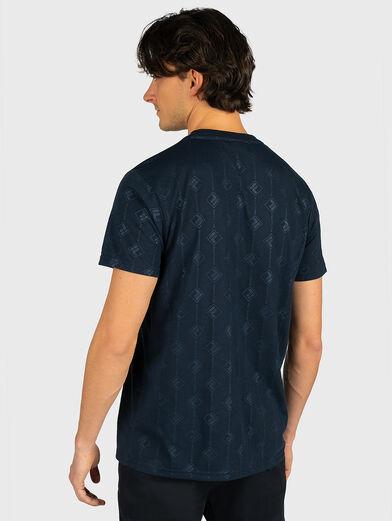 HENIO T-shirt in blue - 3