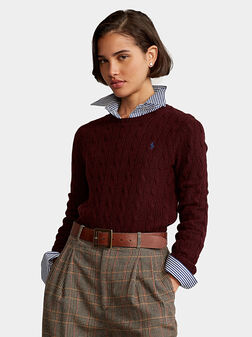 Wool and cashmere sweater - 1