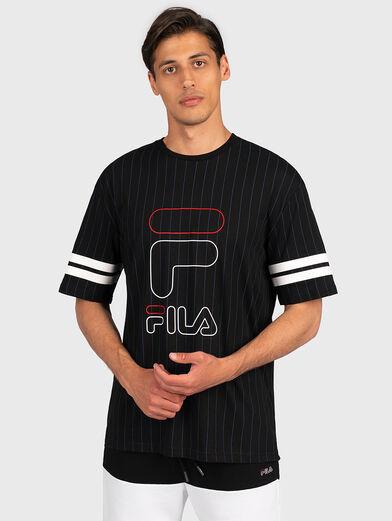 JAMIRO T-shirt with logo print - 1