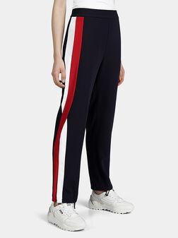 Тъмно син спортен панталон - 1