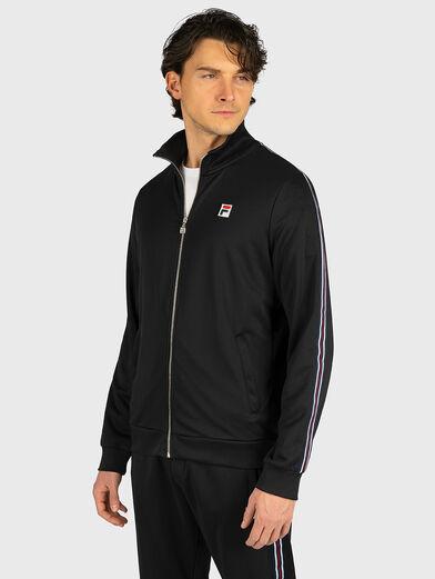 SALIH Track jacket in black - 1