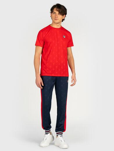 HENIO T-shirt in blue - 4