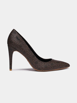 VICKIE Court shoes with logo print - 1