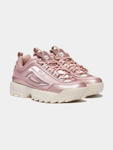 DISRUPTOR Sneakers with patent look details - 2