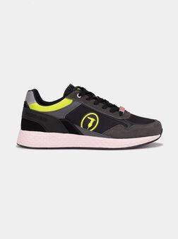 Спортни обувки KEVIN KYOTO с неонови акценти - 1