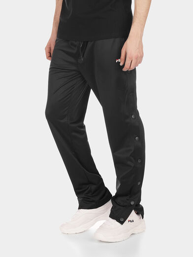 NAOLIN Track pants with lateral buttons - 1