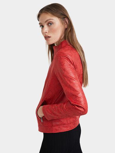 Slim high neck jacket - 3