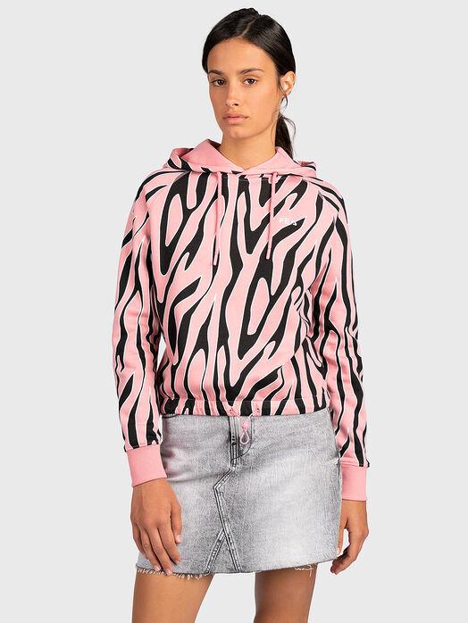 EMBLA Pink sweatshirt