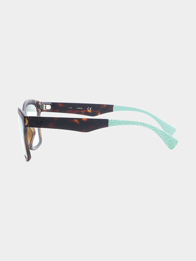sun glasses with blue accents - 2