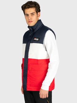 Puffer vest in black color - 1