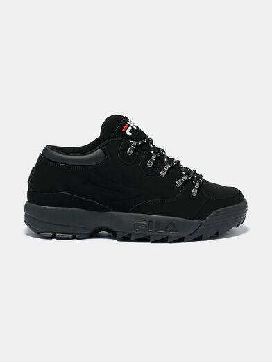 DISRUPTOR HIKER Black sneakers with logo details - 1