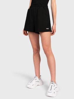 Къси панталони EDEL с висока талия - 1