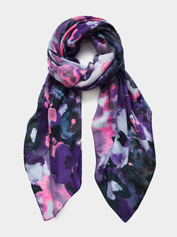 Scarf with print - 1