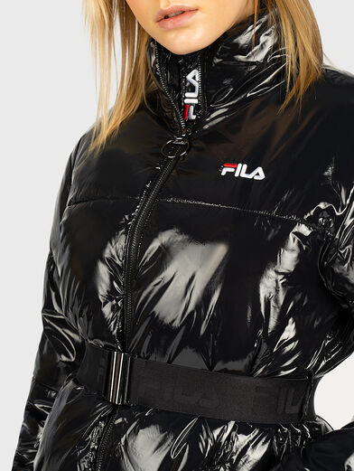 AVVENTURA Padded jacket with glossy effect - 2