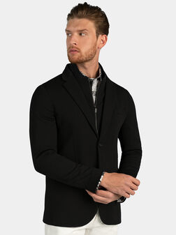 Jacket with additional high neck - 1