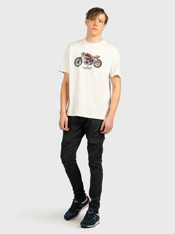 Черен панталон със странични джобове JARED - 1