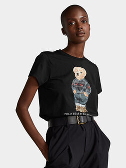 Тениска с Polo Bear принт - 1