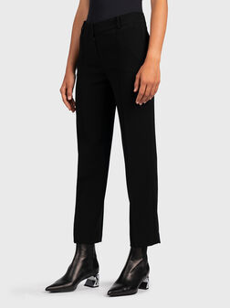 Shortened slim pants - 1