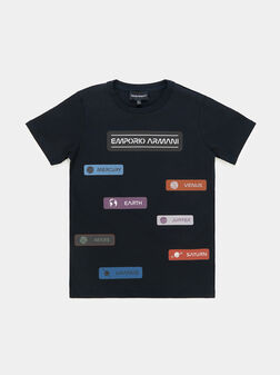 Cotton t-shirt with print - 1
