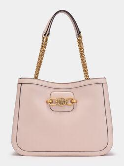 Чанта за рамо GRETA в розов цвят - 1