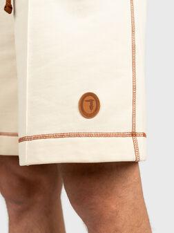 Памучни къси панталони - 1