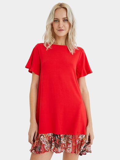 KALI Dress in red color - 1