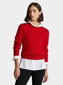 Кашмирен пуловер JULIANNA - 1