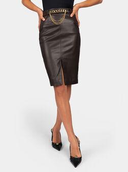 Brown skirt - 1