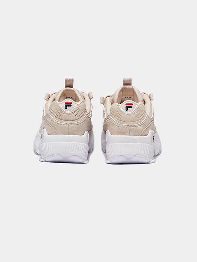 D-FORMATION S Suede runners - 1
