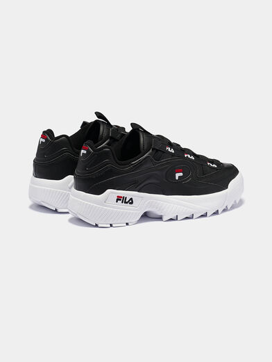 D-FORMATION Black sneakers - 3