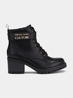 Ankle boots with logo - 1