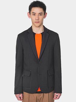 NIKKI Jacket with contrasting elements - 1