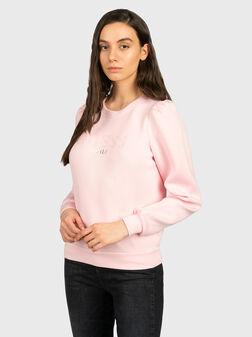 Суитшърт AMELIA в розов цвят - 1