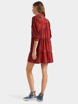 SEVILLA Dress with animal motifs - 4