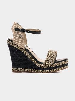 OHARA Platform sandals - 1