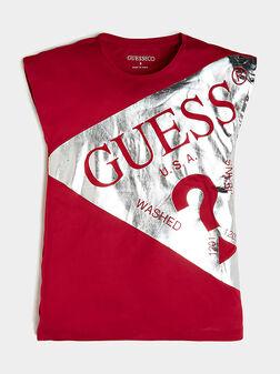 Червена тениска - 1