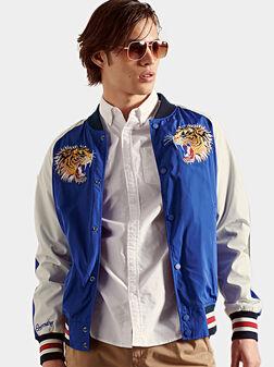 SUIKA Bomber jacket with animal elements - 1